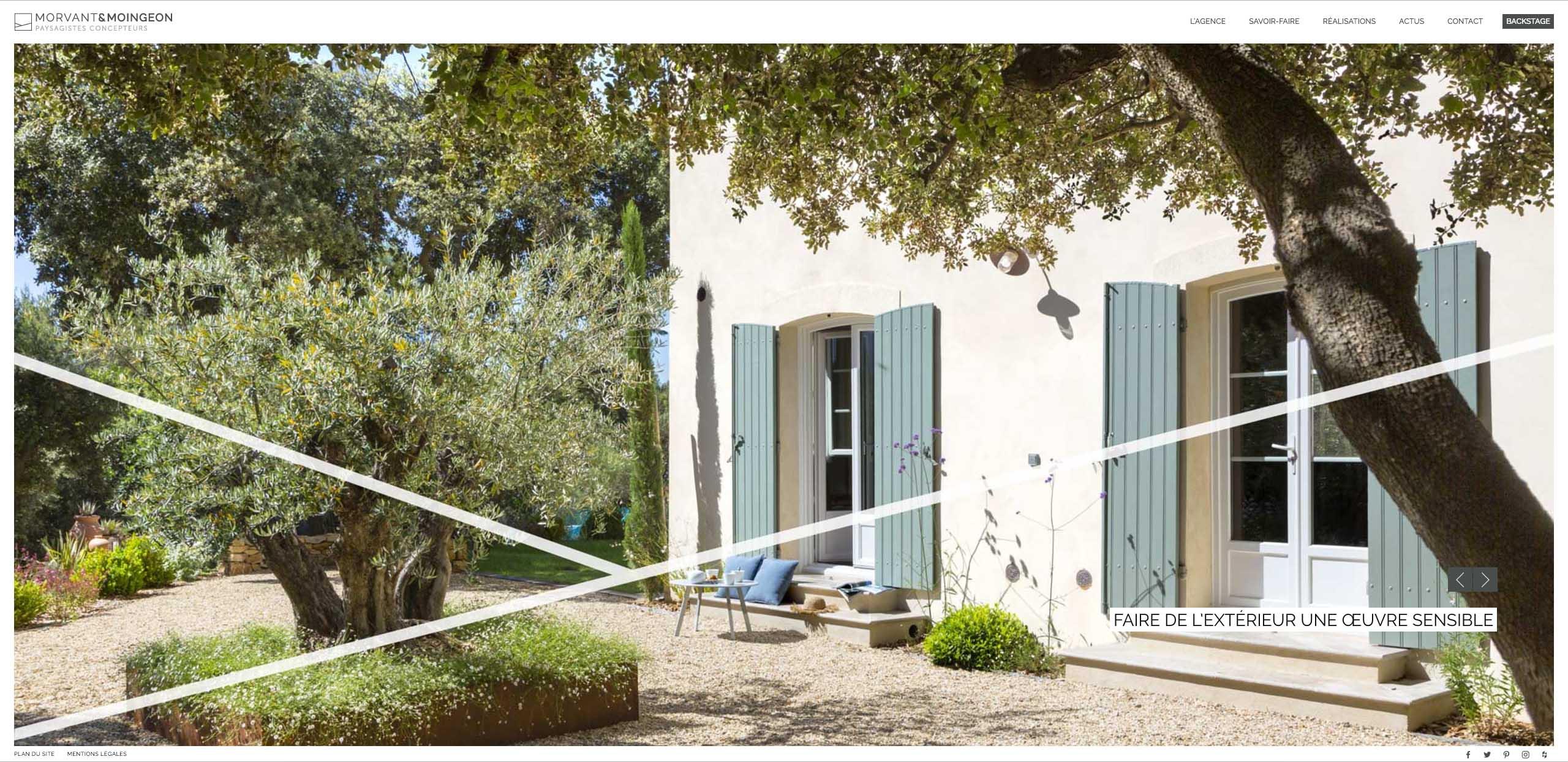 agence morvant moingeon architecte paysagiste aix en provence. Black Bedroom Furniture Sets. Home Design Ideas